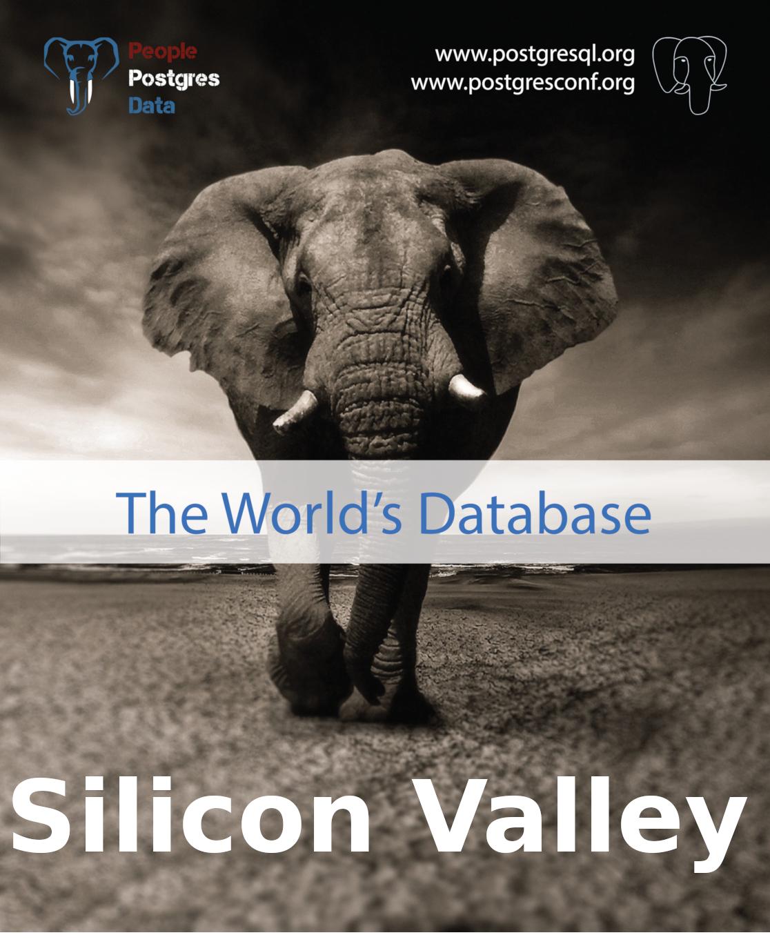 PostgreSQL Silicon Valley 2019